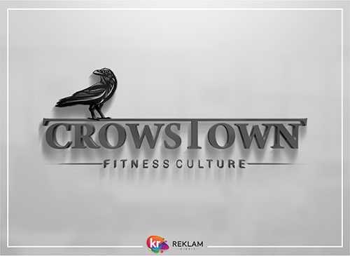 Crowstown Fitness Culture – Logo Çalışması