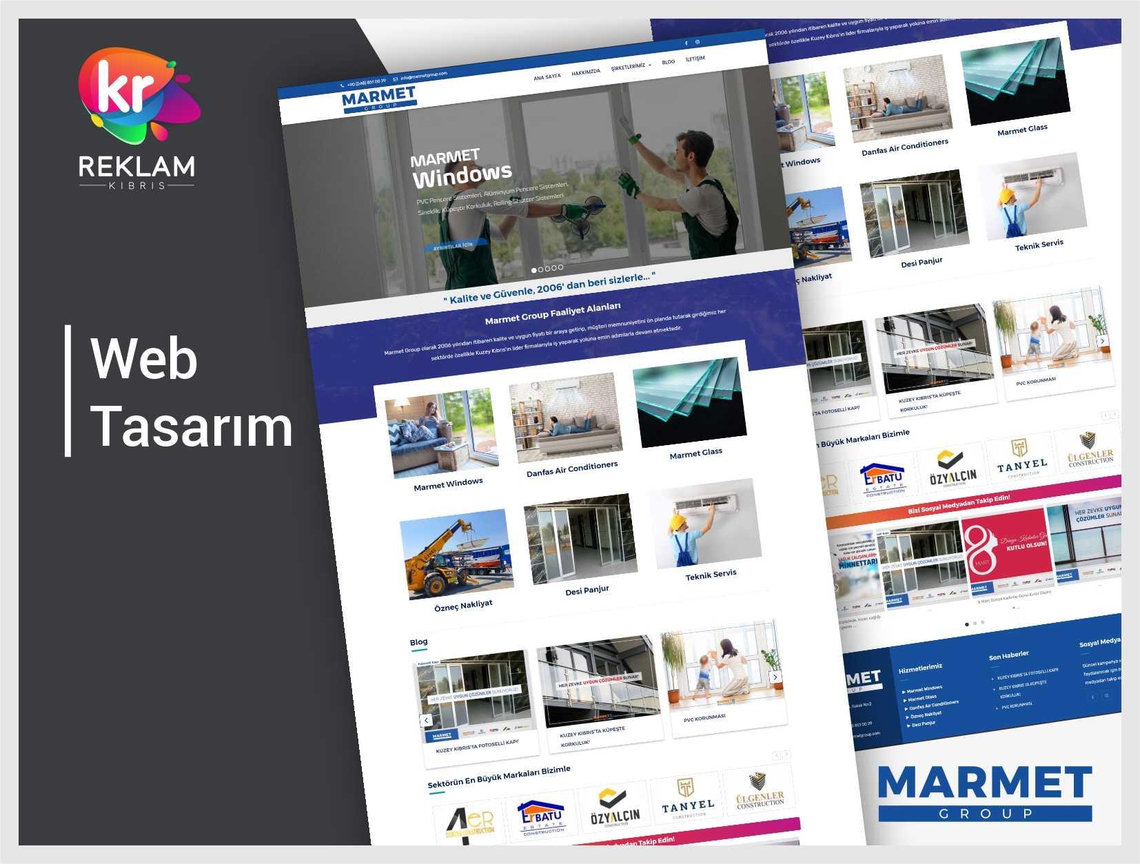 Marmet Group – Web Sitesi