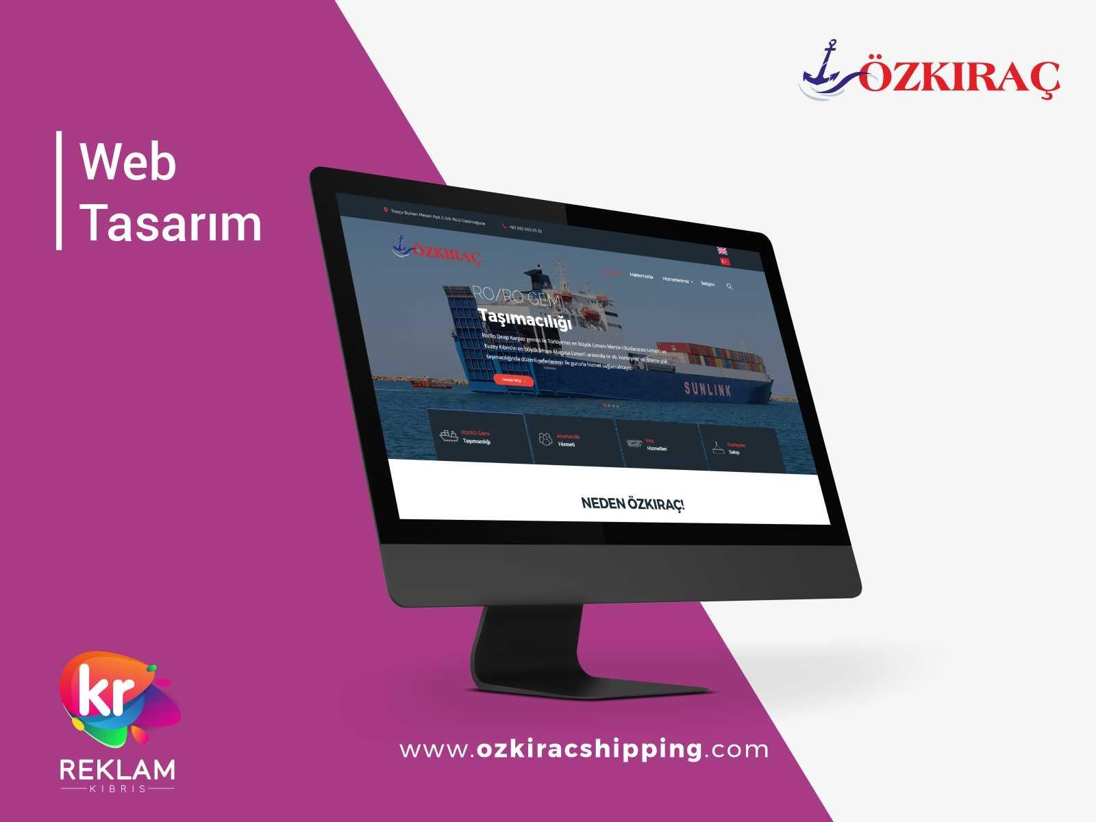 Özkıraç Lifting & Shipping LTD – Web Sitesi